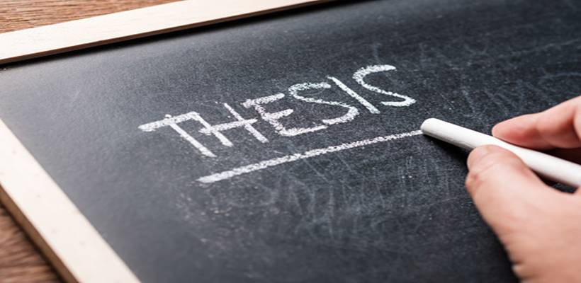 Thesis writing services by experts